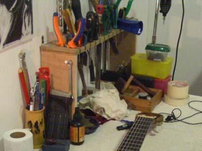 כלים לסט אפ לגיטרה חשמלית