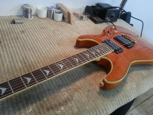גיטרה חשמלית שכטר